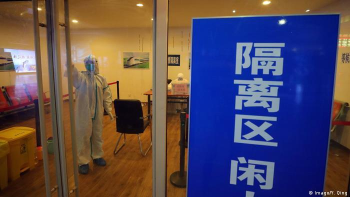 China: Angst vor weiteren Fällen des Coronavirus (Imago/Y. Qing)