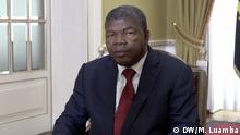 João Lourenço, Präsident von Angola, im Gespräch mit DW