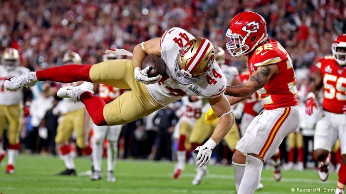 USA, Miami: Super Bowl LIV - San Francisco 49 - Kansas City Chiefs (Reuters/M. Emmons)