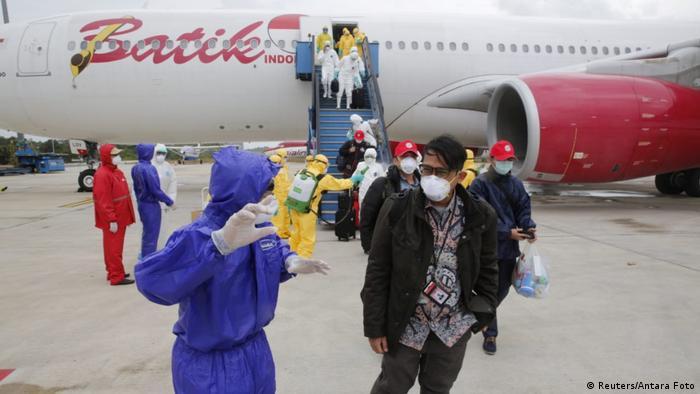 Indonesien Rückholung von Staatsbürgern aus Wuhan