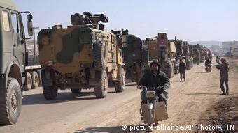 نیروهای ترکیه در استان ادلب