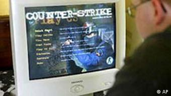 Counter Strike im Internet Café