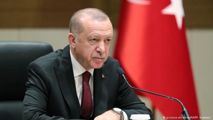 Türkei Präsident Erdogan (picture-alliance/AA/M. Kamaci )