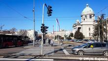 Serbien Parlament