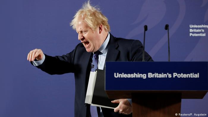 Boris Johnson Rede zu UK-EU Beziehungen nach Brexit (Reuters/F. Augstein)