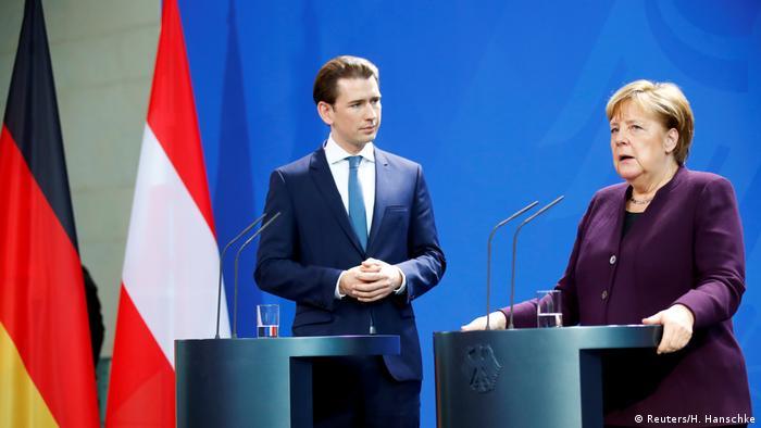 Kurc i Merkel (3. februar 2020)