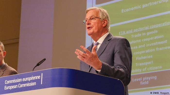 Michel Barnier, negociador comunitario.