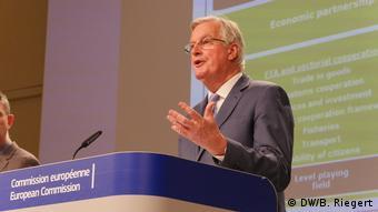 Michel Barnier, EU-Chefunterhändler