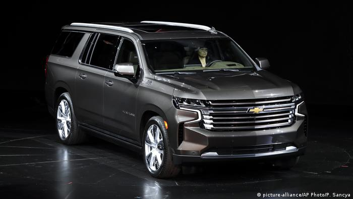 Chevrolet Suburban (picture-alliance/AP Photo/P. Sancya)