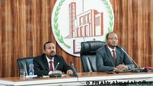 Prime Minister Dr Abiy Ahmed has brief the House of People's Representatives on current issues. The PM is also responded to questions from members of the parliament. Titel: Prime Minister Dr Abiy Ahmed has brief the House of People's Representatives on current issues. 03.02.2020 Autor/Copyright: PM Abiy Ahmed Ali Office Schlagworte: Ethiopia, Addis Ababa , Äthiopien