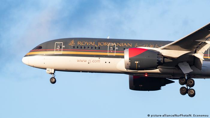 Royal Jordanian Airlines: Boeing 787 (picture-alliance/NurPhoto/N. Economou)