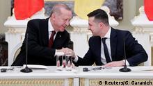 Ukraine Kiew Präsident Erdogan bei Wolodymyr Selenskyj