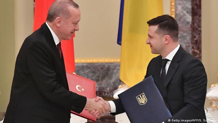 Cumhurbaşkanı Recep Tayyip Erdoğan ve Ukrayna Devlet Başkanı Volodimir Zelenskiy (Foto: Arşiv)