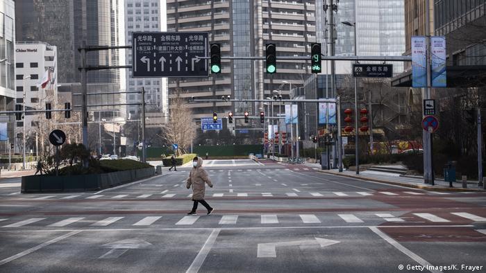 China Peking | Leere Straßen
