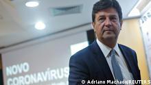 Brasilien Brasilia | Luiz Henrique Mandetta, Gesundheitsminister | PK zum Coronavirus