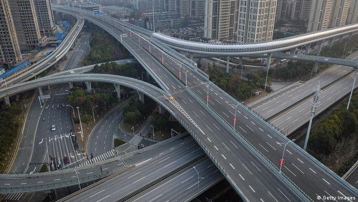 Wuhan, Cina | jalan layang