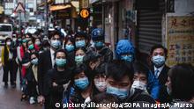 Hongkong - China | Coronavirus | Lieferung chirurgische Masken