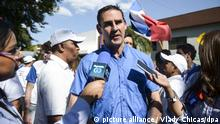 El Salvador Wahlen 2018   Ernesto Muyshondt, Kandidat Bürgermeisteramt San Salvador