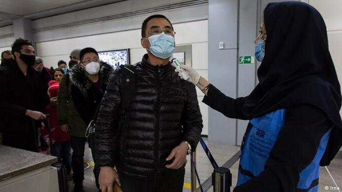 Iran Passagiere aus China