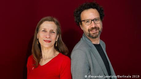 Mariette Rissenbeek and Carlo Chatrian (Alexander Janetzko/Berlinale 2019)