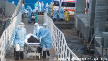 China Coronavirus l Notfall-Krankenhaus in Wuhan - erste Patienten werden verlegt