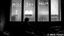 نوشته یک مهاجر افغان در مسیر بالقان برای مادرش
