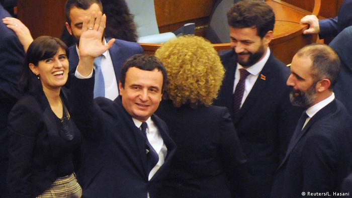 Kosovo l Albin Kurti wird neuer Ministerpräsident (Reuters/L. Hasani)