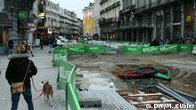 Brüssel Straßenarbeiten