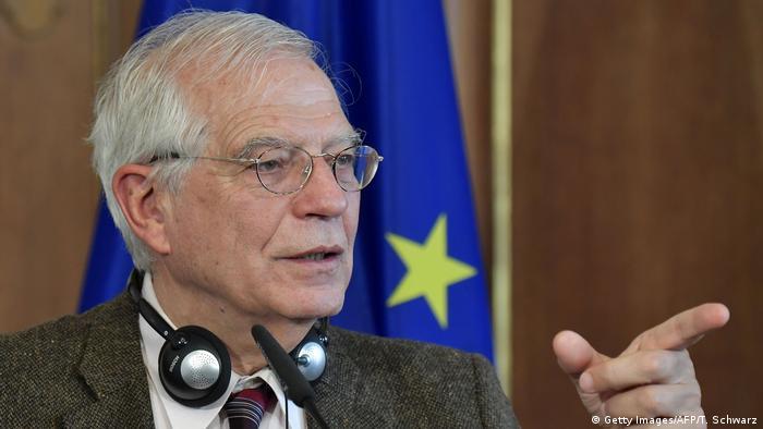 El jefe de política exterior de la UE, Josep Borrell, protesta contra una ampliación tácita del G7.