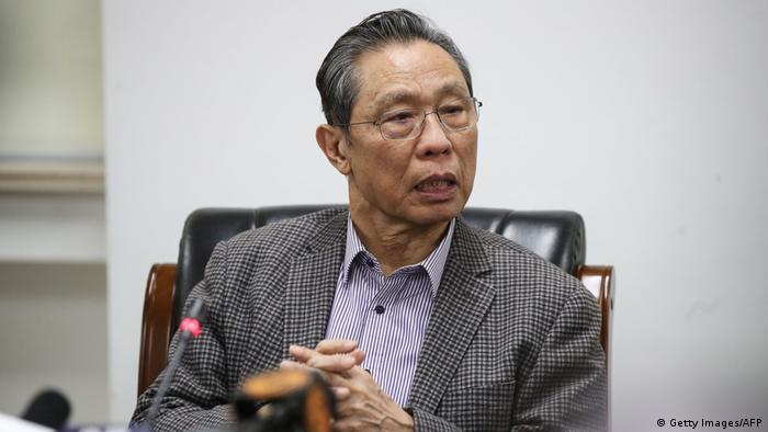 China Coronavirus l Zhong Nanshan - Wissenschaftler (Getty Images/AFP/Str)