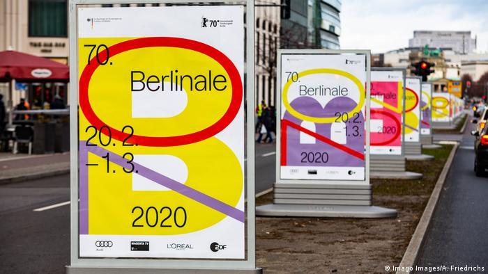 Berlinale: cartel de publicidad.