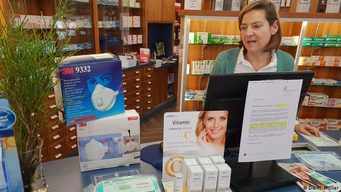 Bonn pharmacy (DW/M. Müller)