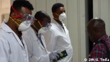Äthiopien Coronavirus l Flughafen - Ankunft