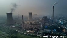 China Huainan Kohlekraftwerk