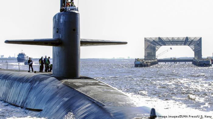 USA rüsten U-Boot mit neuer Atomwaffe um