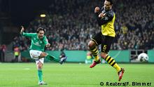 Fußball DFB Pokal | SV Werder Bremen vs Borussia Dortmund | Tor (2:0)