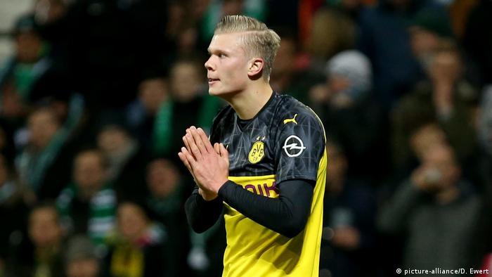 DFB Pokal Achtelfinale - SV Werder Bremen - Borussia Dortmund - Erling Haaland