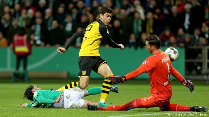 Giovanni Reyna, Borussia Dortmund (picture-alliance/D. Ewert)