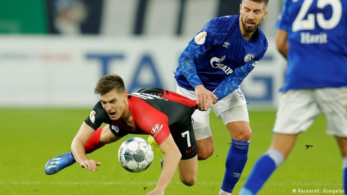Schalke play Hertha in the German Cup