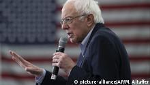 US-Präsidentschaftskandidat: Bernie Sanders in Milford
