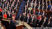 USA, Washington: Trump hält State of the Union Rede im Capitol