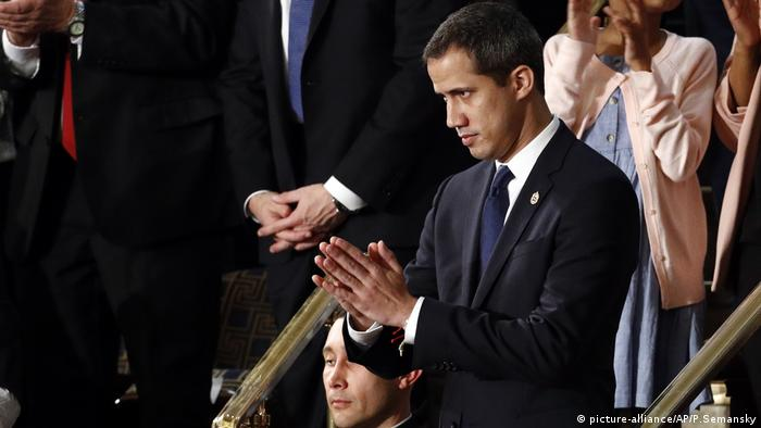 State of the Union Rede - Juan Guaido (picture-alliance/AP/P.Semansky)