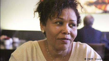 Shadia Abdelmoneim, Menschenrechtsaktivistin aus dem Sudan (DW/M. Grundmann)
