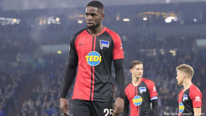 Hertha Berlin defender Jordan Torunarigha (picture-alliance/L. Perenyi)