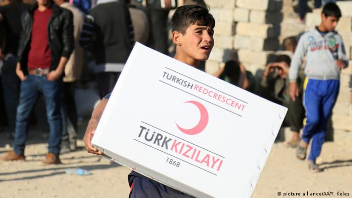 Türkei - Roter Halbmond (picture alliance/AA/Y. Keles)