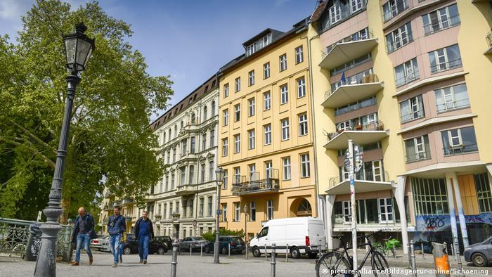 Berlin apartment blocks