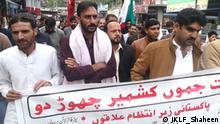 Pakistan Kashmiri protest