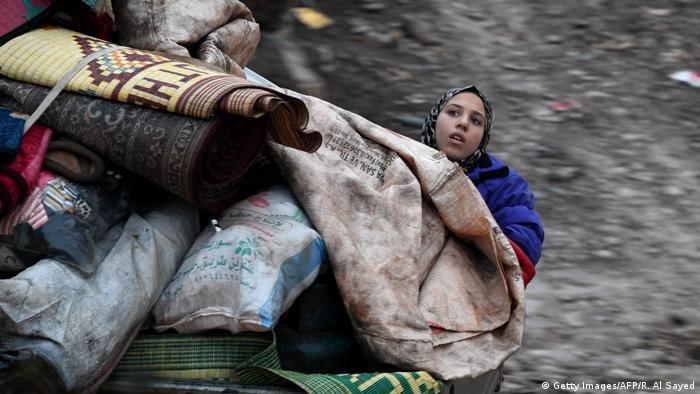 Syrien l Elternlose, vertriebene Kinder