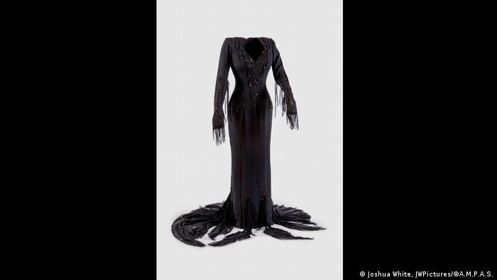 A dress from the movie The Addams Family (Joshua White, JWPictures/©A.M.P.A.S.)