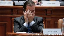 Rumänien Regierung Ludovic Orban per Misstrauensvotum gestürzt